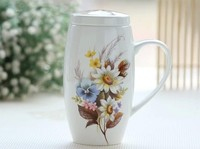 042664 drink ware cup mug new2014 coffee beer tea  cups  mugs Large capacity Paintings free shipping  wholesale  high quality