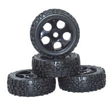 ARC0052 4 шт. 1/8 масштаб внедорожный автомобиль багги rc шины и колеса Черный пульт дистанционного управления автомобильные шины для 1:8 радиоуправляемое Багги внедорожные