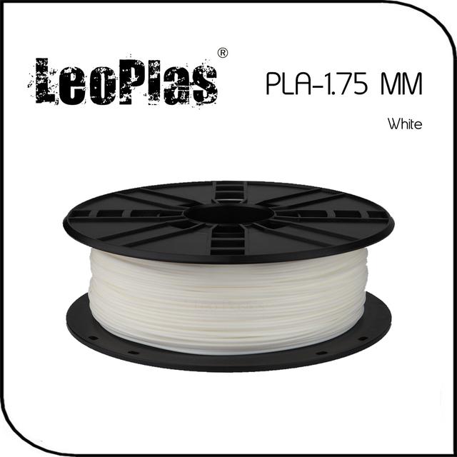 Em todo o mundo Expresso Rápido Dentro de 7 Dias Direto Fabricante Material de Impressora 3D 1 kg 2.2 lb 1.75mm Branco PLA Filament