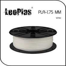 Worldwide Fast Delivery Direct Manufacturer 3D Printer Material 1 kg 2.2 lb 1.75mm White PLA Filament