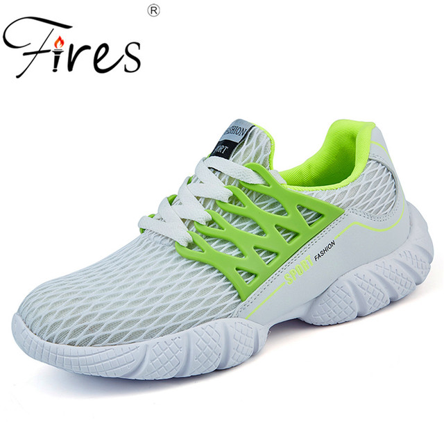 Fires running shoes light weight mesh sports shoes and Trend jogging sneakers for woman and man Autumn  flat walking trend shoes