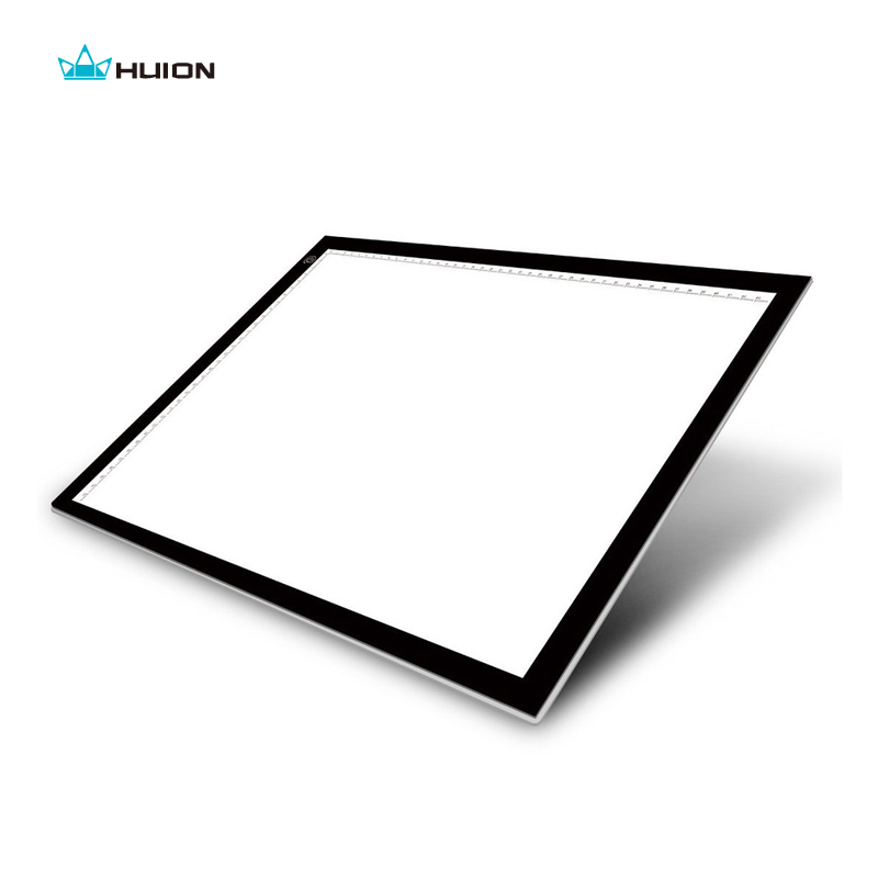 New Huion A3 Led Light Pad Acrylic Panels Professional Tattoo Light Pad Cartooning Light Boxes Handwriting