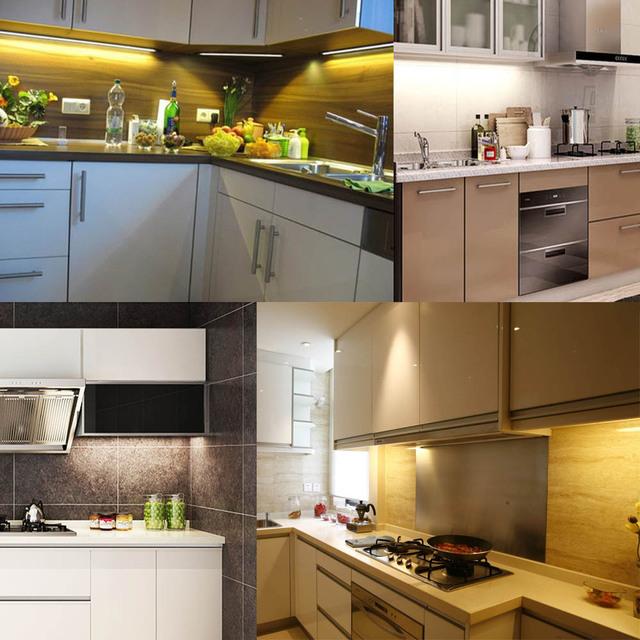 2835 AC 220V Led Bar Light 10PCS 49CM Aluminium PCB 72Leds Led Hard Strip No Need Driver For Home Cabinet Kitchen No Waterproof
