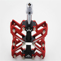 Bike Cycling Pedals Fixed MTB BMX Bearing Aluminous Alloy Pedals Chromium Molybdenum Steel Shaft High Strength