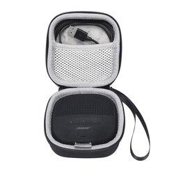 2019 novo plutônio levar caixa de alto-falante protetora capa bolsa bolsa caso para bose soundlink micro alto-falante bluetooth-espaço extra para cabos