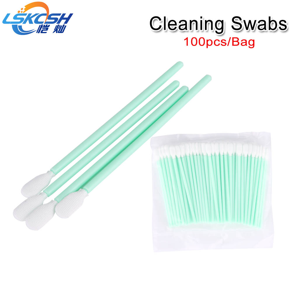 LSKCSH High quality 100pcs/ pack non-woven cotton laser cleaning swabs for fiber laser protective mirrirs/windows Precitec/WSXLSKCSH High quality 100pcs/ pack non-woven cotton laser cleaning swabs for fiber laser protective mirrirs/windows Precitec/WSX