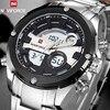 Top Luxury Brand Men Full Steel Military Watches Men S Quartz Digital LED Sports Wrist Watch