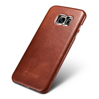 Original Icarer Vintage Series Genuine Leather Case Cover For Samsung Galaxy S7 S7 Edge Luxury Brand