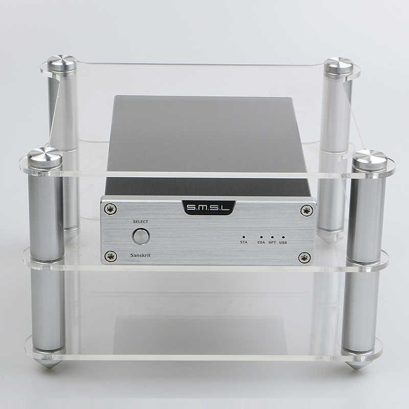 Smsl m8 q5 FX-AUDIO D802C DAC-X6用いKGU12絶妙なアクリルフレームhifiアンプampデコーダフレームラック機器