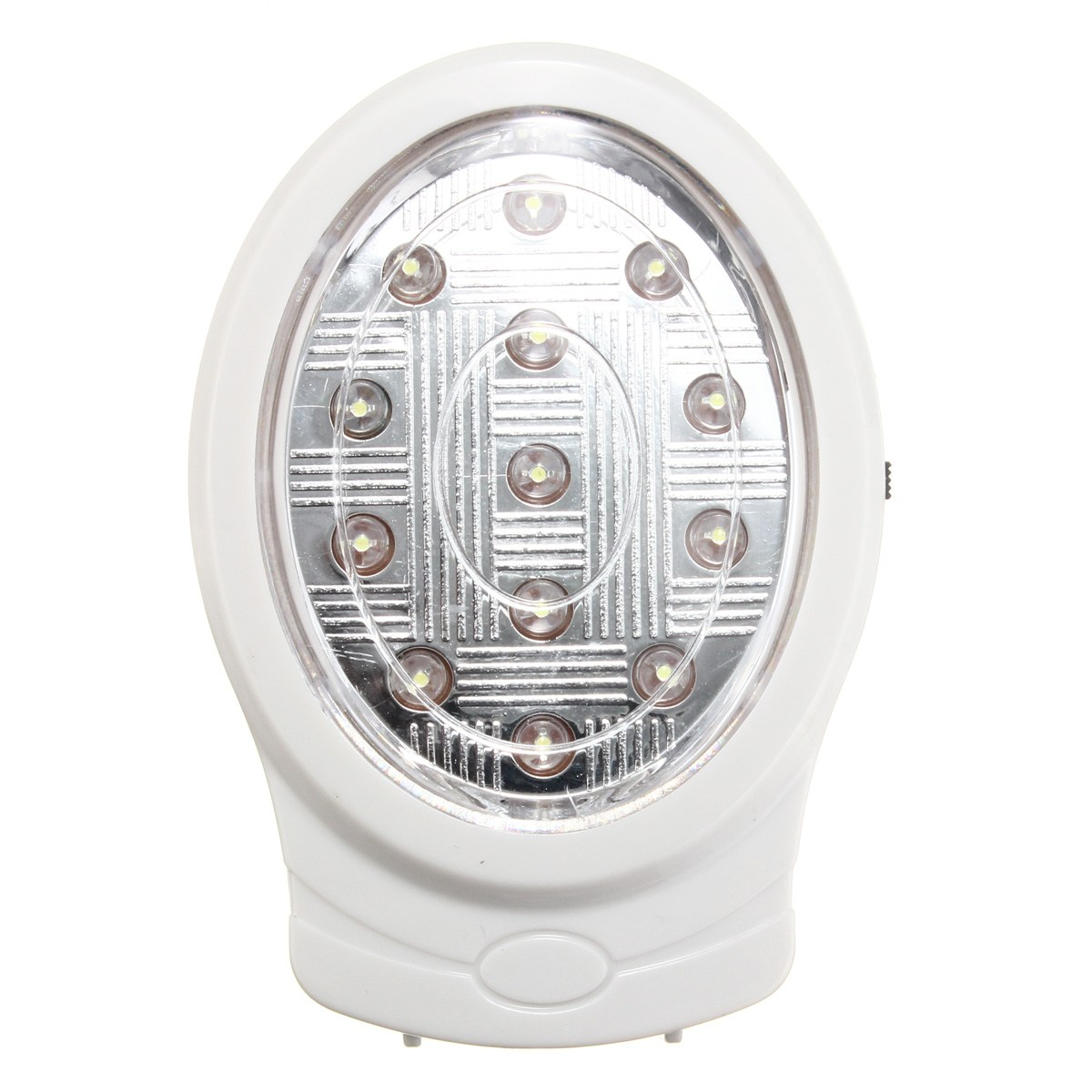 2W 13 LED Rechargeable Emergency Light Automatic Power Failure Outage Lighting Lamp Bulb