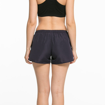 CKAHSBI Summer Exercise Gym Shorts Women Yoga Shorts Professional Sports Running Black Low Waist Workout Black Training Shorts 3