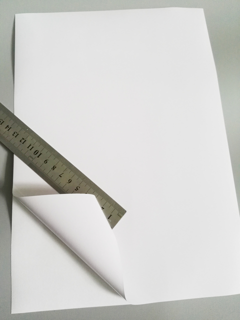 FUNCOLOUR A4 blank waterproof sticker paper GLOSSY white vinyl label for inkjet printer NEW SPECIAL MATERIAL   RJ0001G