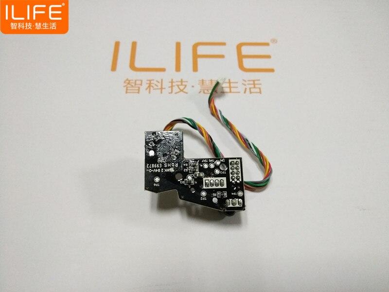Originale Parete Sensore di Ricambio per Ilife V7s Ilife V7s Pro V7 Robot Vacuum Cleaner Parts Accessori del Sensore A Parete