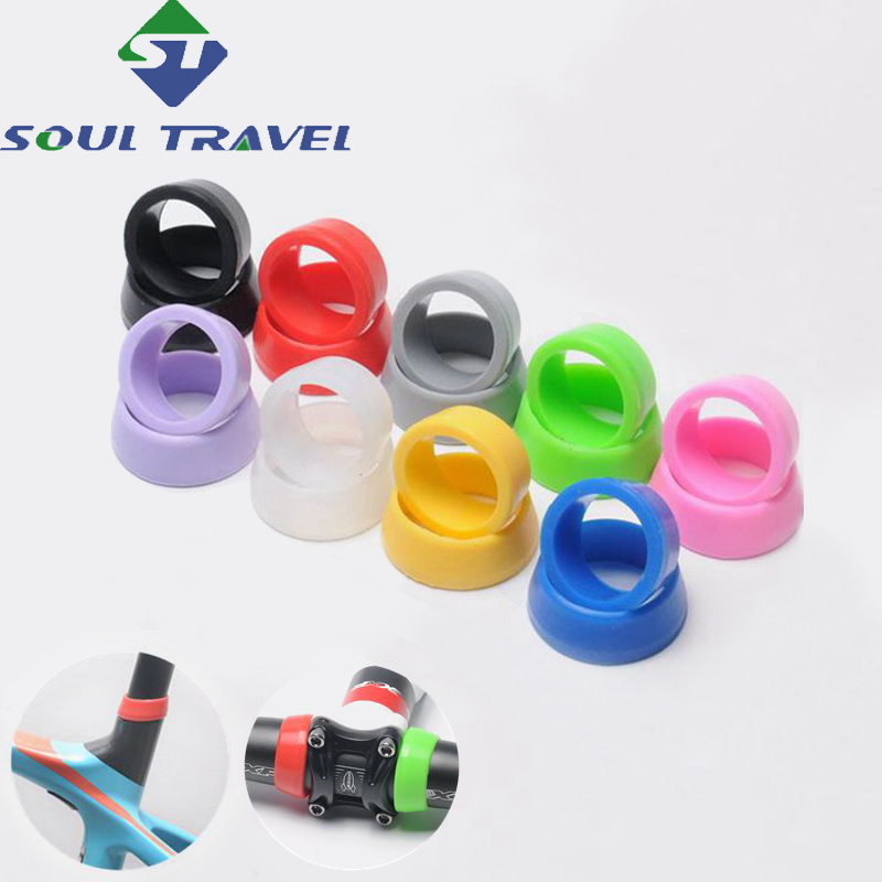 Soul Travel Bicycle Seat Tube Dust Cover Waterproof Cover Silicone Material For 25-35mm Caliber Hot Bike Accessory