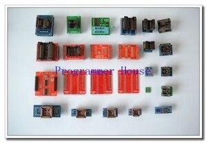 Image 1 - 2020 Новинка 100% оригинальный XGecu полный 25 универсальных адаптеров для программатора TL866 TL866II plus TL866A TL866CS