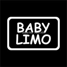 цена на Baby Limo Newborn Infant Vinyl Sticker Decal Car Window Truck SUV Bumper Auto Door Kayak 8 Colors