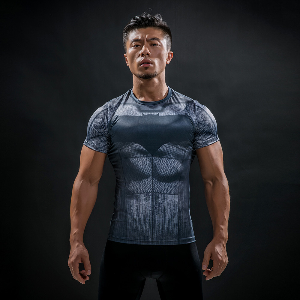 Punisher 3D Printed T-shirts Men Compression Shirts Long Sleeve Cosplay Costume crossfit fitness Clothing Tops Male Black Friday 110