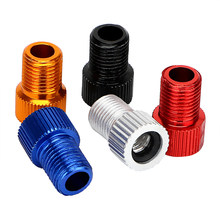 5 Piece/Set Presta to Schrader Convert Connector Adapter Valve Car-styling Car Auto Bicycle Bike High Quality Tube Cap pump(China)