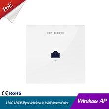 11AC 1200 Мбит/с Беспроводная точка доступа в стену 86 Тип AP Крытый Настенный клиент+ AP двухдиапазонный 11AC 1167 Мбит/с совместимый с PoE 802.3af