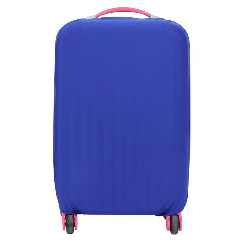 Best Selling Luggage Cover Fashion Solid Color Trolley Case Dustproof Elastic Suitcase Cover 2018 Essential Travel Accessories