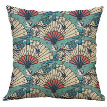 Japanese Style Cushion Cover Tropic Pineapple Throw Pillow Cover Polyester Cushion Case Sofa Bed Decorative Pillow 45x45cm j16(China)