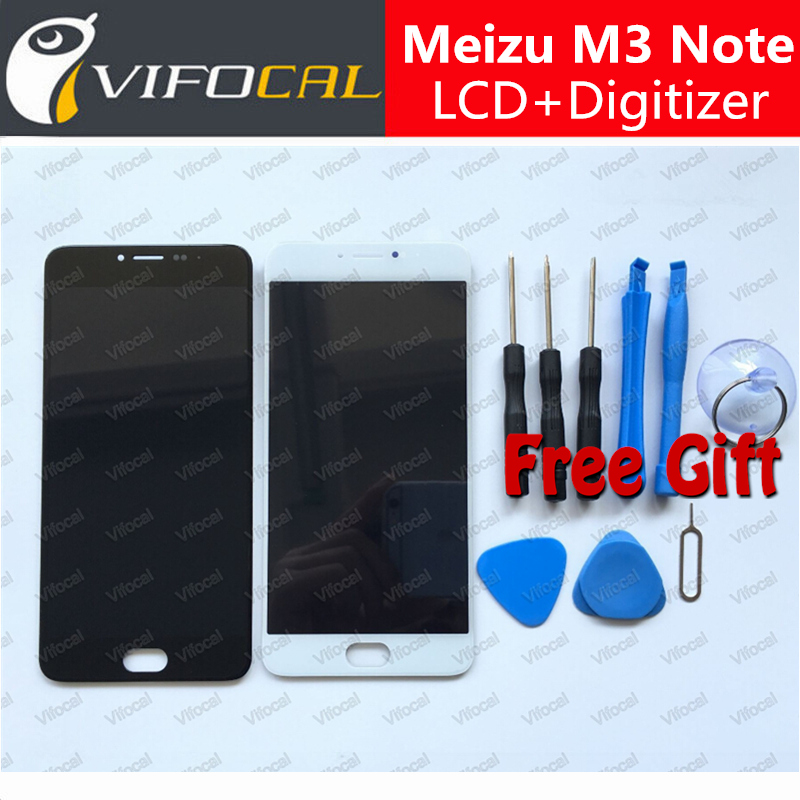 imágenes para Para Meizu M3 Nota LCD Display + Touch Screen Reemplazo Digitalizador Asamblea Accesorios Para Meizu M3 Teléfono Celular Nota
