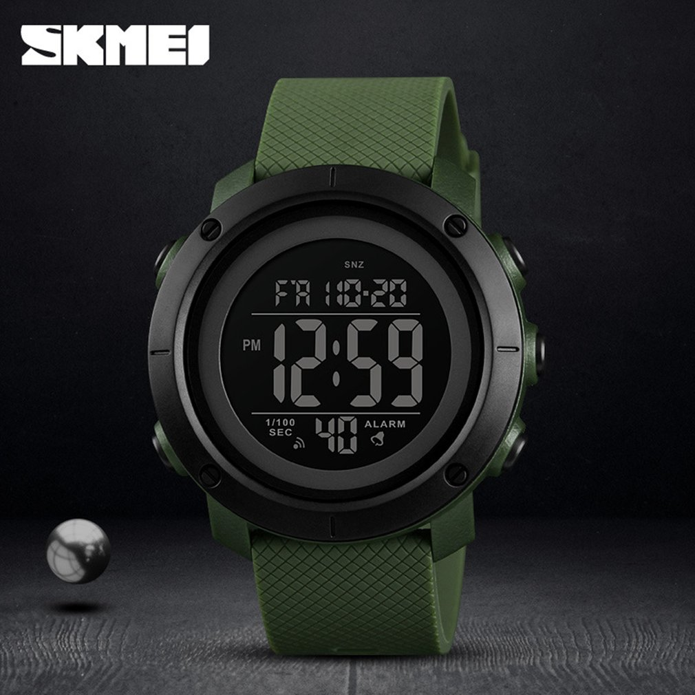 SKMEI Luxury Brand Outdoor Sports Watch 50m Waterproof Multifunction Luminous LED Digital Watch Casual Watch Models Relogio in Digital Watches from Watches