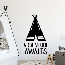 Fun adventure Decorative Sticker Waterproof Home Decor For Kids Rooms Diy Decoration Pvc Accessories