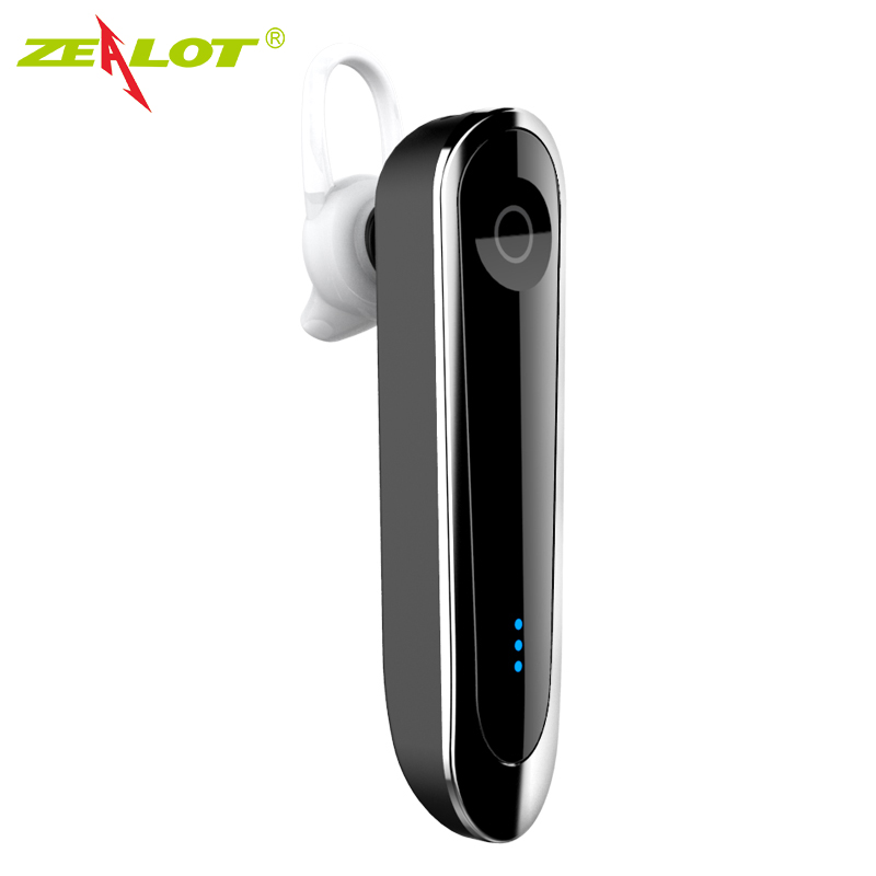 ZEALOT E6 Wireless Headset Car Kit with Dock stereo Bluetooth Earphone Microphone MP3 Hands Free fone de ouvido Auricular airersi k6 business bluetooth headset smart car call wireless earphone with microphone hands free and headphones storage box