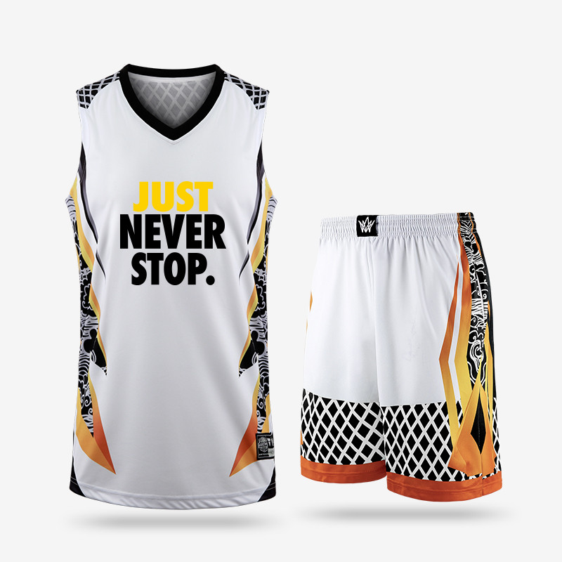 3998b2002 New kids adult basketball training jersey set blank men college tracksuits  breathable boys basketball jersey uniforms