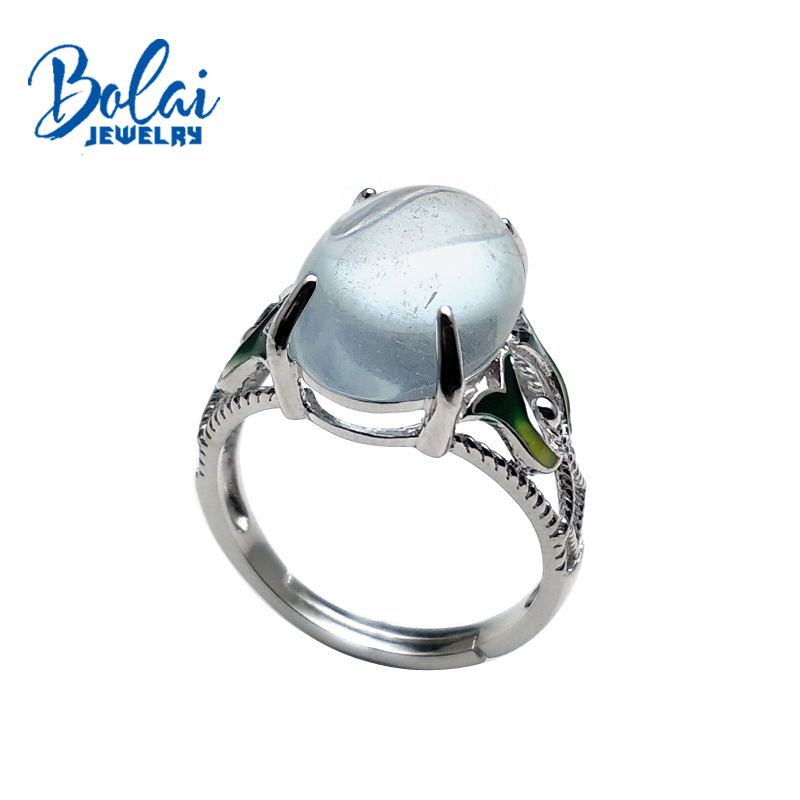 bolaijewlry,natural aquamarine gemstone light-colored oval 10*14mm in 925 sterling silver fine jewelry for lady daily wearbolaijewlry,natural aquamarine gemstone light-colored oval 10*14mm in 925 sterling silver fine jewelry for lady daily wear