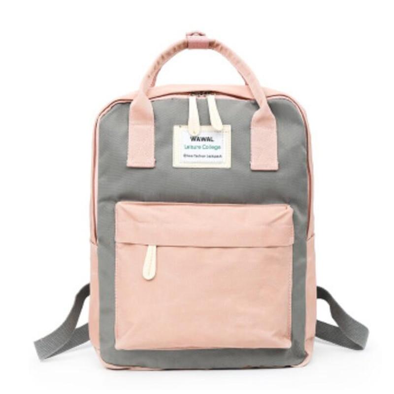 HTB1vOIEKeOSBuNjy0Fdq6zDnVXaw Yogodlns Campus Women Backpack School Bag for Teenagers College Canvas Female Bagpack 15inch Laptop Back Packs Bolsas Mochila