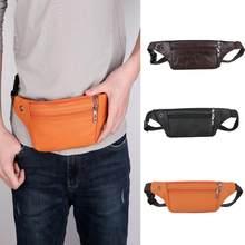 fa8c3b997634d Men Money Bag Belt Fanny Pack Waist Bag Zipper Shoulder Phone Purse Belts  Men Travel Bags Handbags Zipper Monedero Luxury Handba