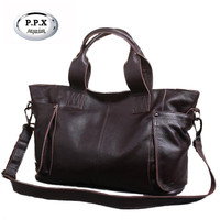Ladies Large Capacity Hand Bags Popular Big Tote Bags Women Top Quality 100 Genuine Leather Office