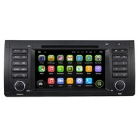 7Inch 1Din Android 4 4 4 Dual Quad Core Car DVD Player For BMW For E39