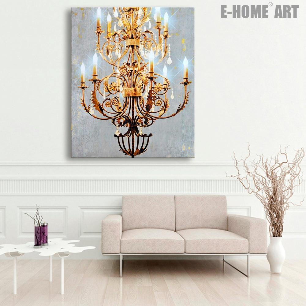watch diy canvas art chandelier youtube