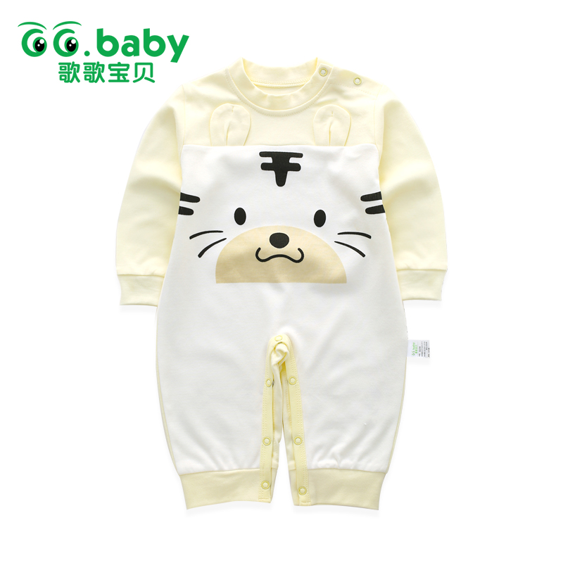 Winter Newborn Bear Jumpsuit Long Sleeve Striped Baby Rompers Clothes Baby Boys Jumpsuits For Babies Animal Infant Girl Clothing newborn baby winter clothes romper set cotton baby clothing for girls boys striped rompers infant long sleeve product bebek