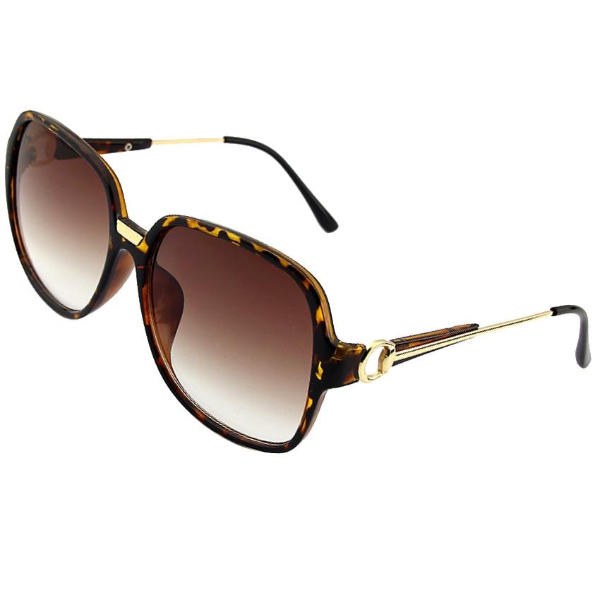 Overdimensjonerte solbriller Kvinner Ny merkevare Designer Solbriller Utendørs kjørebriller Kvinne damer