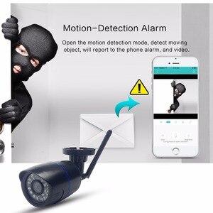 Image 4 - 1080P kablosuz kablolu IP kamera CamHi Wifi IP kamera açık 720P Onvif SD kart yuvası hareket algılama alarmı CCTV ev güvenlik için