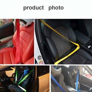 Image 5 - Gspscn cinto de correia de assento, 3m/5m faixa de correia de assento para carro, grosso, cinto de cor da moda padrão europeu