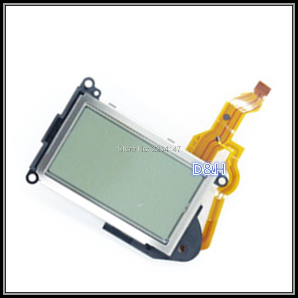 Original Shoulder small LCD Display screen control panel assy Repair parts For Nikon D7200 SLR top screen