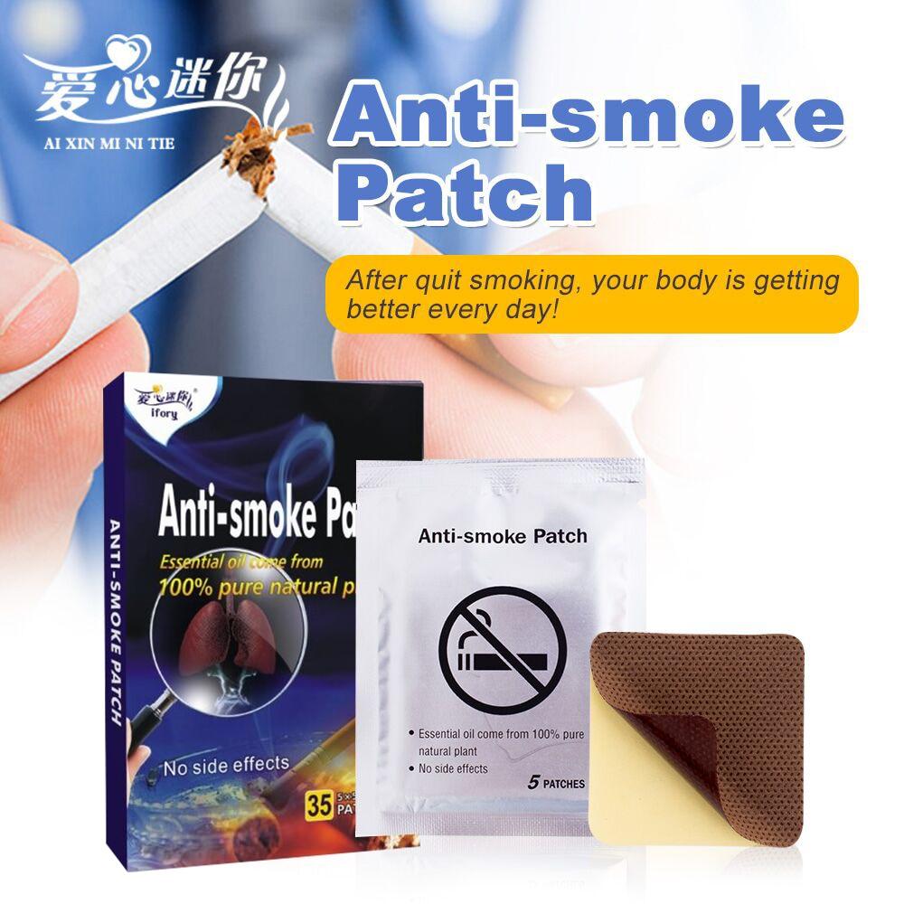 Health Care Anti smoke Patch 35 Pieces/Box Stop Smoking ...