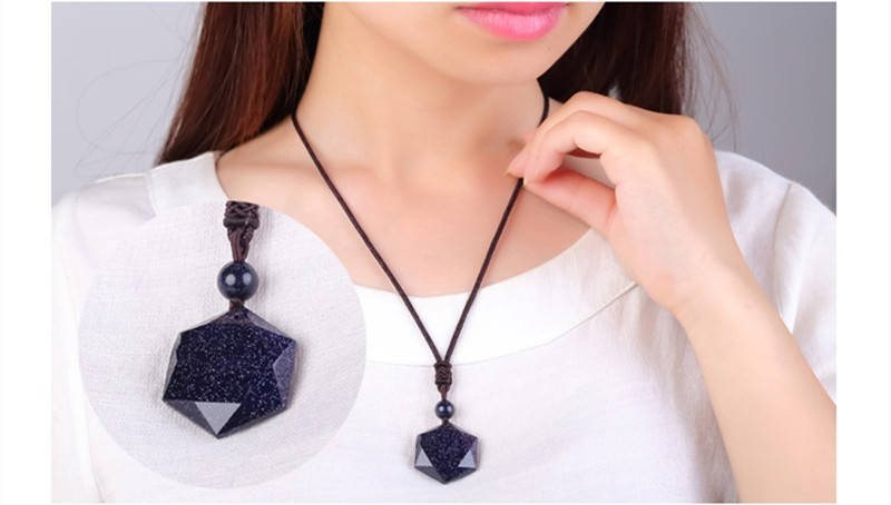HTB1vOJ jf6H8KJjy0Fjq6yXepXap QIANXU Black Obsidian Six Awn Star Pendant Necklace Obsidian Star Jewelry Obsidian Jade Jewelry Fine Jewelry