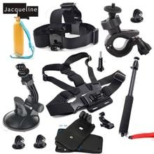 JACQUELINE for Accessories Kit for Gopro hero go pro hero hd 5 4 3+ 3/SJCAM SJ5000 SJ6000 SJ7000/EKEN H9R H9 H8/SOOCOO