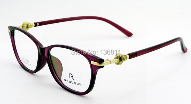 2015 Best Selling Eyeglasses Frame Korea Women Brand Designer TR90 ...