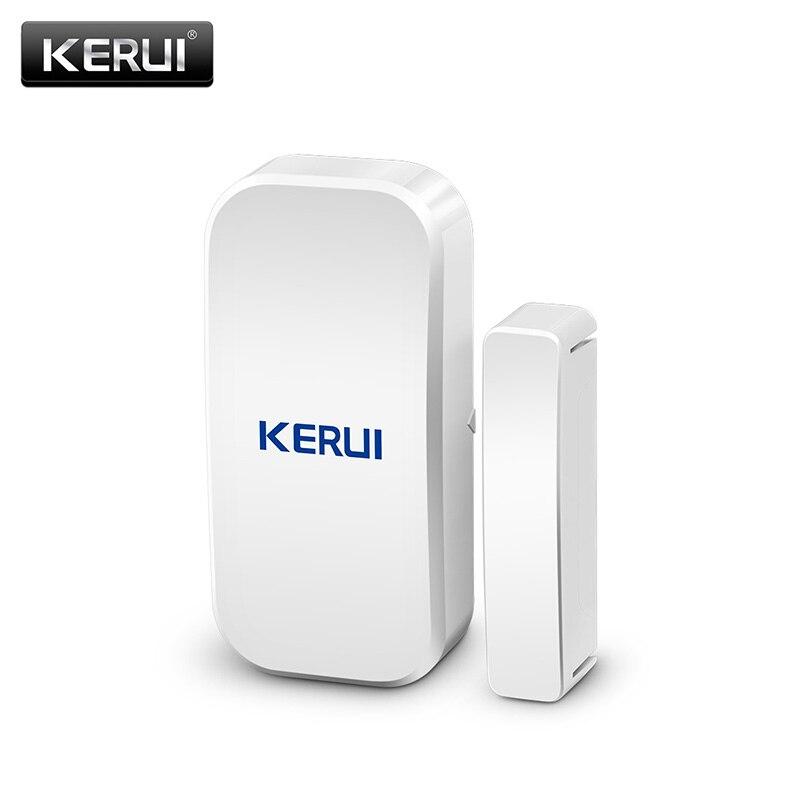 Original KERUI D025 433 Mhz inalámbrico de la puerta de la ventana imán Sensor Detector para el hogar sistema de alarma inalámbrico