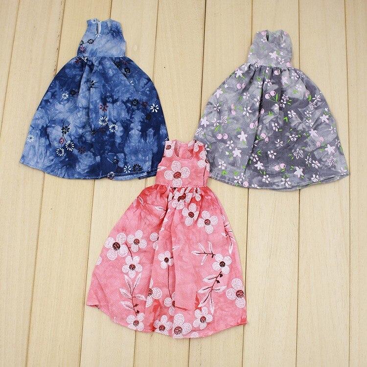 Neo Blythe Doll Retro Spring Flowers Dress 2