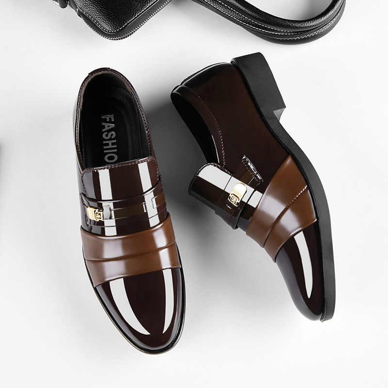 Man Business Leather Male Wedding Casual Leather Casual Shoes Men Fashion Hot Selling Dress Leather Shoes Men Shoes Leather