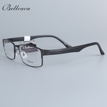 Bellcaca Optical Spectacle Frame Men Eyeglasses Computer Prescription Diopter Glasses For Male Clear Lens Eyewear BC775