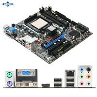 Oryginalny Używany Pulpitu płyta główna Dla msi 785GTM-E45 785GTM wsparcie AMD Socket AM2 DDR2 2 * wsparcie 8G 6 * SATA3 USB2.0 Micro ATX